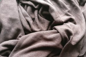 Unknown Brown Knit Material