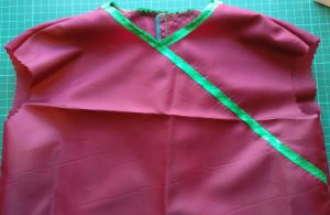 Front of the Bodice